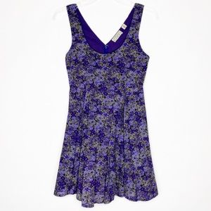 UO Kimchi Blue Floral Fit & Flare Dress Size XS